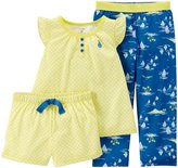 Carter's 3 Piece Print PJ Set (Toddler/Kid) - Island-7
