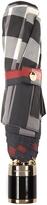 Burberry Trafalgar-check collapsible umbrella