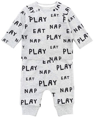 M·A·C MAC AND MOON Mac And Moon Sheep Unisex 2-pc. Baby Clothing Set-Baby