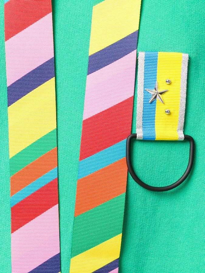 Mira Mikati stripe detail hoodie