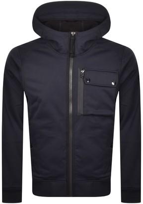 G Star Raw Utility Hooded Softshell Jacket Navy