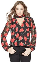 GUESS Women's Aiko Popover Top
