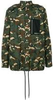 Palm Angels camouflage shirt