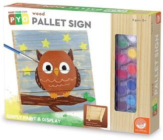 MindWare Paint Your Own Wood Pallet Sign