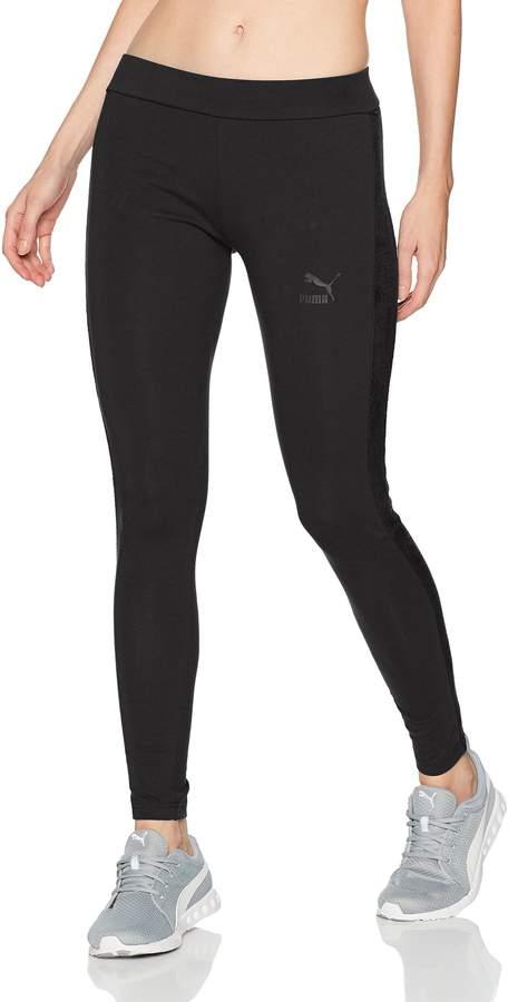 b69780b3ec9d1 Women's Winterized Archive Logo T7 Legging, Black, XS