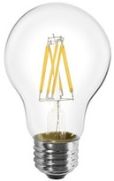Livex Lighting 60 Watt Equivalent, A19 LED, Non-Dimmable Light Bulb, Warm White (2700K) E26/Medium (Standard) Base