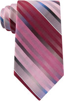 Van Heusen Striped Silk Tie - Extra Long