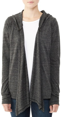 Alternative Hooded Jersey Cardigan