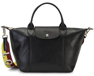 Longchamp Le Pliage Leather Top-Handle Bag
