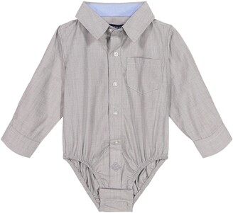 Andy & Evan Button-Up Long Sleeve Bodysuit