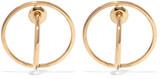 Charlotte Chesnais Saturn Gold Vermeil Earrings - one size
