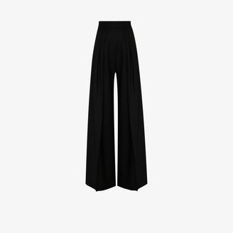 Brøgger Gretta wool wide leg trousers