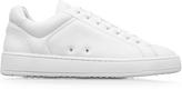 Etq Amsterdam Low 4 White Pebble Leather Men's Sneaker