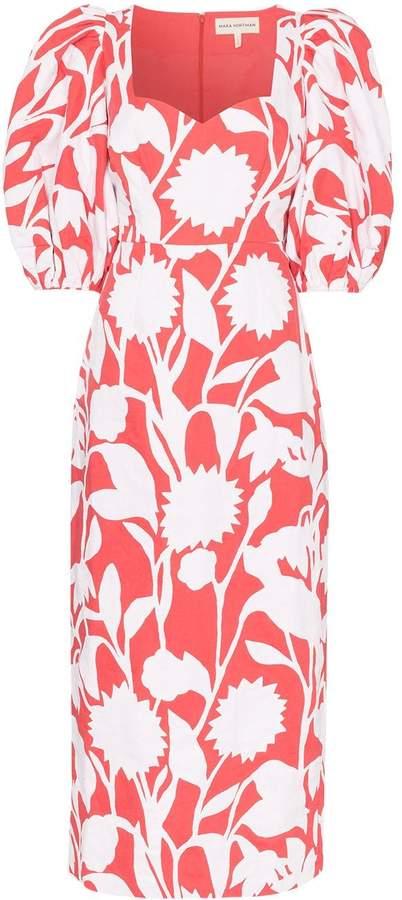 Mara Hoffman Celia floral-print cotton-blend maxi dress