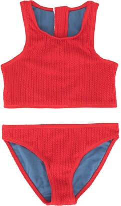 Duskii Girl Yara zip bikini set