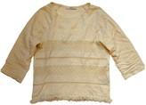 Sessun White Cotton Top for Women