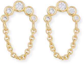 Tai Dangle Chain Stud Earrings