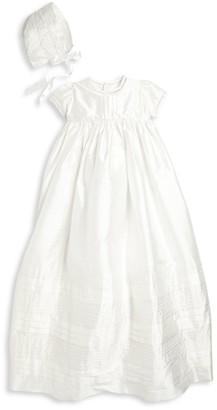 Isabel Garreton Baby's 2-Piece Lovely Silk Christening Gown & Bonnet Set