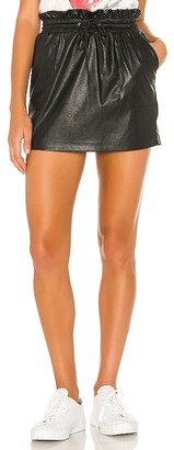 n:philanthropy Sola Faux Leather Mini Skirt