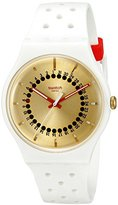 Swatch Unisex SUOW400 Originals Analog Display Swiss Quartz White Watch