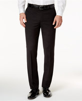 INC International Concepts Black Non-Iron Flat Front Pants, Created for Macy's