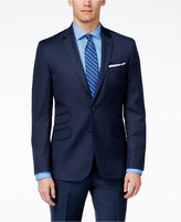 Kenneth Cole New York Navy Solid Extreme Slim-Fit Jacket