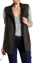 Bagatelle Genuine Leather Utility Vest