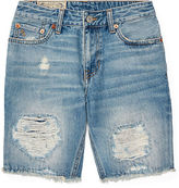 Ralph Lauren 8-20 Distressed Cutoff Denim Short