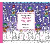 Chronicle Books Journey In Color - Mexican Folk Art Coloring Book