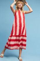 Anthropologie Priya Ikat Striped Dress, Pink