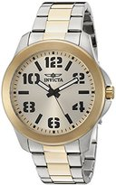 Invicta Men's 21441 Specialty Analog Display Japanese Quartz Two Tone Watch