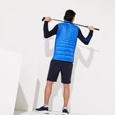 Lacoste Men's SPORT Lightweight Water-Resistant Quilted Vest