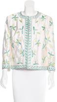 Michael Kors Silk Embellished Jacket w/ Tags