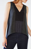 BCBGMAXAZRIA Paris Striped Tank Top
