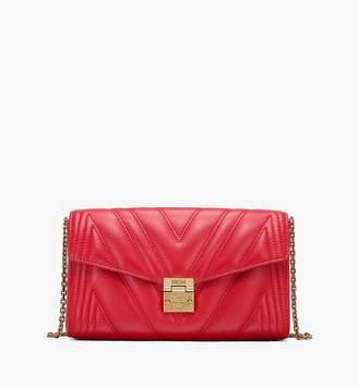 MCM Millie Crossbody Bag in Quilted Leather