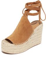 Sigerson Morrison Audora Espadrille Wedge Sandals