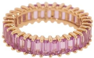 Dana Rebecca Designs 14kt rose gold Kristyn Kylie pink sapphire band
