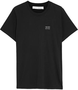 IRO Nelkar Printed Cotton-jersey T-shirt