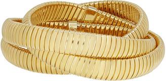 Milani Alberto 18k Triple Tubogas Wrap Bracelet