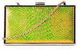 Nasty Gal nastygal WANT A Piece of Snake Clutch