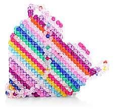 Susan Alexandra Women's Merry Heart Beaded Crossbody Bag
