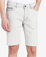 "Calvin Klein Jeans Men's Slim-Fit Light Stone Washed Denim 10.5"" Stretch Shorts"