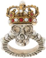 Alexander McQueen King Skull Ring