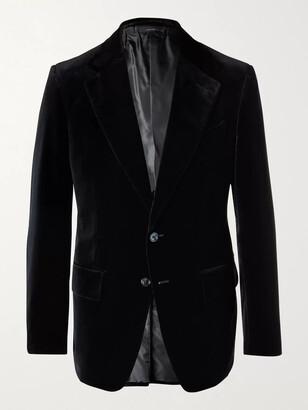 Tom Ford Shelton Slim-Fit Cotton-Velvet Blazer