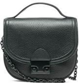 Loeffler Randall Women's Mini Cross Body Saddle Bag Black