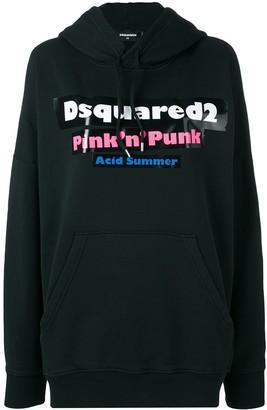 DSQUARED2 Pink 'n' Punk hoodie