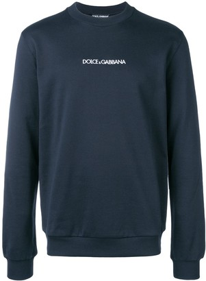 Dolce & Gabbana embroidered logo sweatshirt