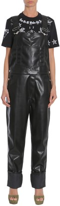 Givenchy Eco Leather Dungarees