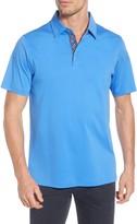 Bugatchi Regular Fit Mercerized Cotton Polo