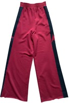 Golden Goose Red Trousers for Women